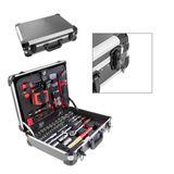 Alu Werkzeugkoffer bestückt 176 tlg - 4 Ebenen - abschließbar