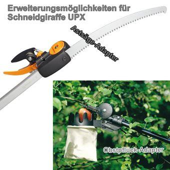 Fiskars Schneidgiraffe PowerGearX UPX82 L:158 cm kombinierbar – Bild $_i