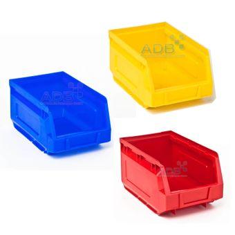 ADB Sichtlagerkasten / Stapelbox Größe 1-2-3-5-6-7-8 – Bild $_i
