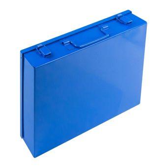 Sortimentskasten / Sortierkasten aus Metall 6 Fächer lang – Bild $_i