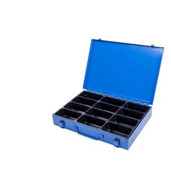 Sortimentskasten / Sortierkasten aus Metall 12 Fächer – Bild $_i