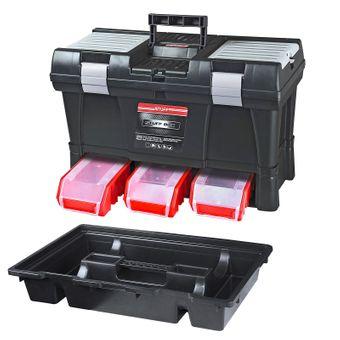 ADB Werkzeugkoffer Toolbox STUFF Profi mit Stapelboxen – Bild $_i