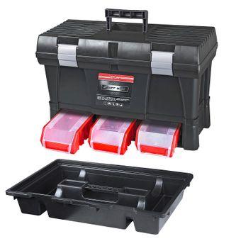 ADB Werkzeugkoffer Toolbox Basic STUFF mit Stapelboxen – Bild $_i