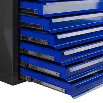 Metall Schubladenschrank / Werkzeugschrank Fernando Maxi 10 Schubladen Anth./Blau – Bild $_i