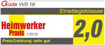 Güde Q9 Akku Winkelschleifer / Trennschleifer 18V WS 18-0 (benötigt 58540) – Bild $_i