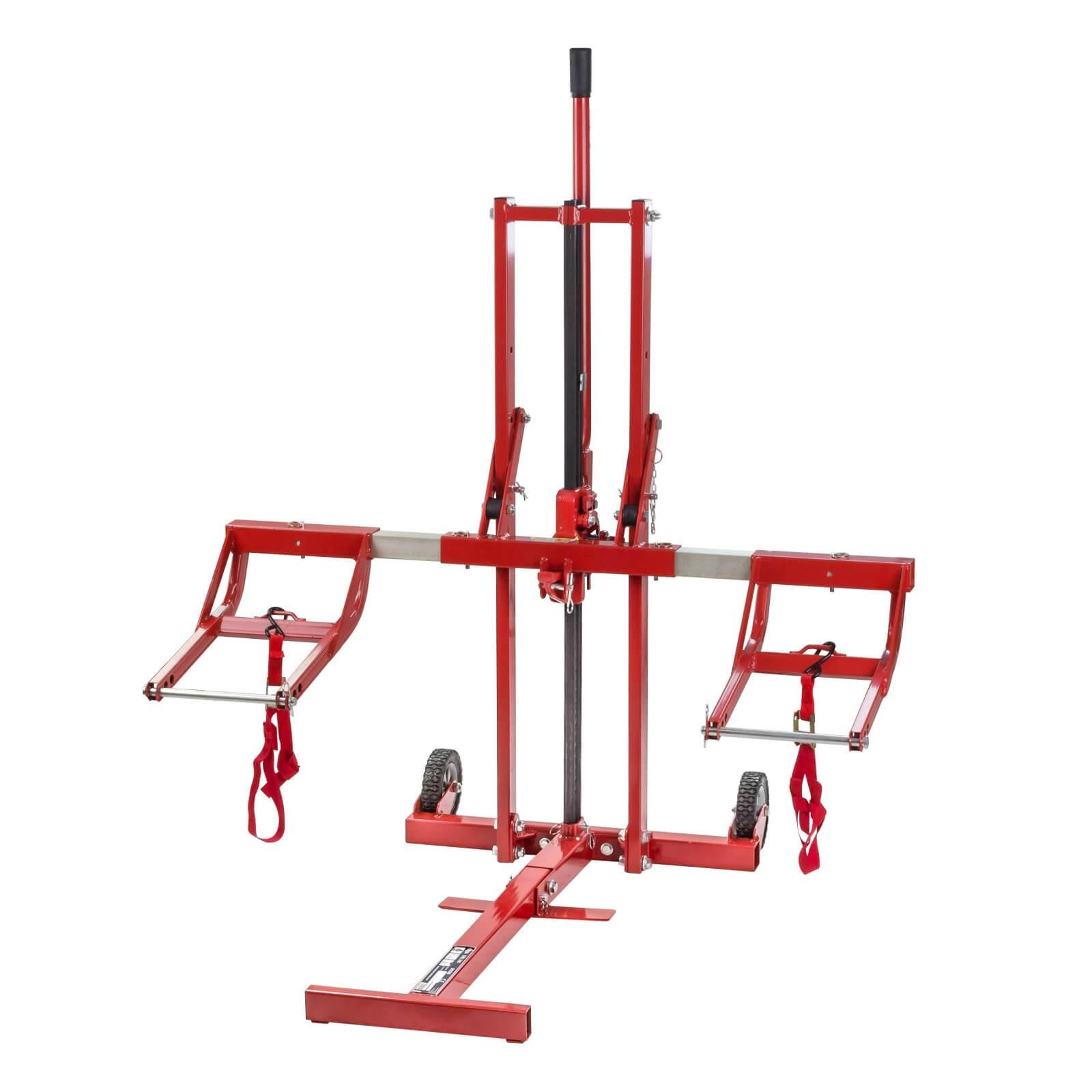 Dema Heber / Reinigungshilfe DRL340 für Rasentraktor / Aufsitzmäher bis 340 kg 21135