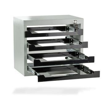 ADB Werkzeug Tresor Kleinteilemagazin Safe mit 4 Fächer – Bild $_i
