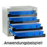 ADB Werkzeug Tresor Kleinteilemagazin Safe mit 4 Fächer