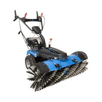 Güde Kehrmaschine GKM 100 Pro Benzin Motor mit Kehrgutbehälter und Schneeschild – Bild $_i