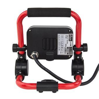 LED-Strahler / Baustrahler 10 Watt tragbar – Bild $_i