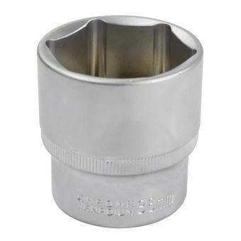 Stecknuss Sechskant 8 bis 36 mm 1/2 Zoll matt verchromt – Bild $_i