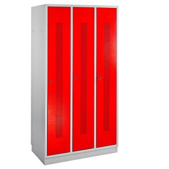 ADB Kleiderspind / Umkleideschrank Perfora 3-türig 1775x890x500 mm – Bild $_i