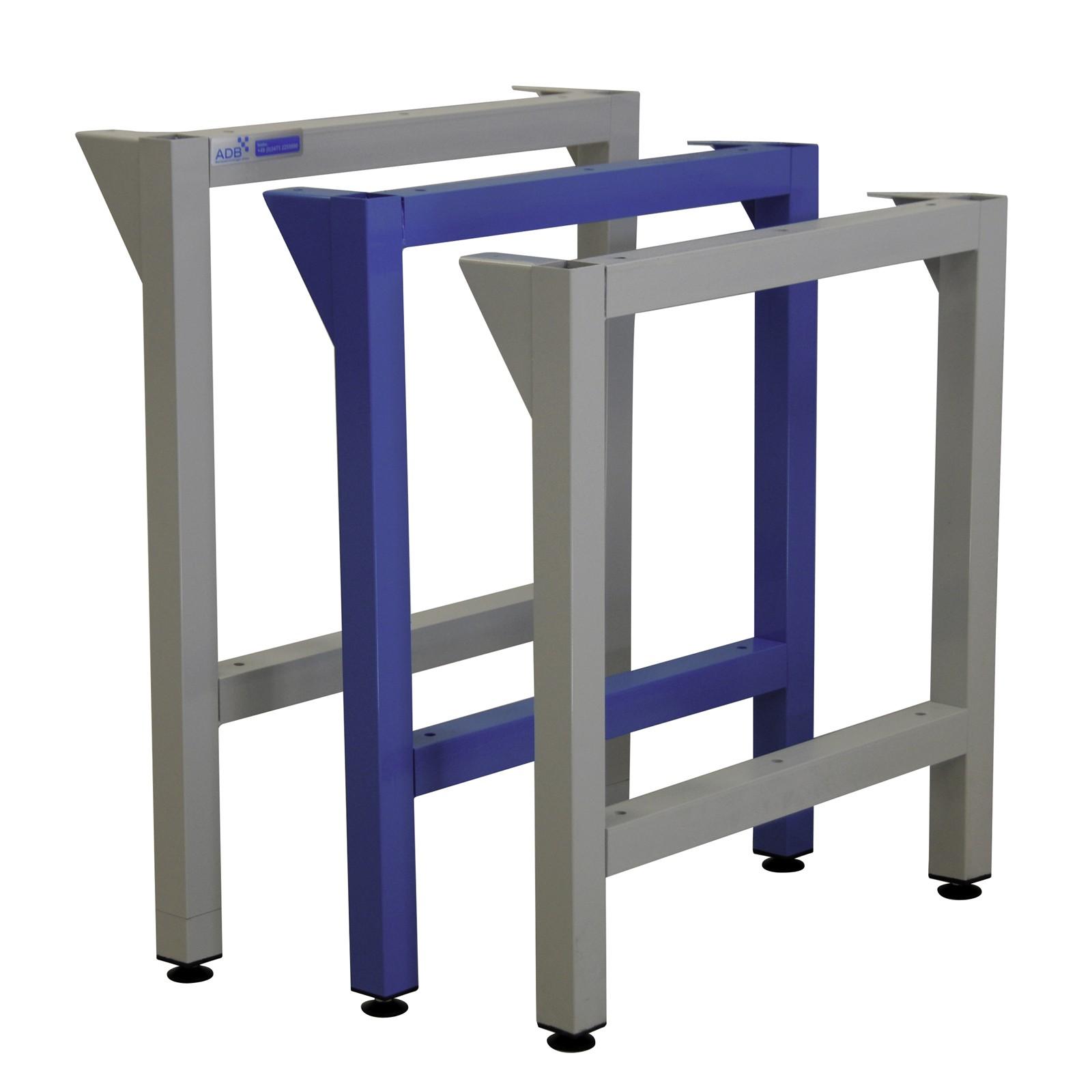 ADB Werkbankfuß Werktisch-Stützbeine für Werkbänke Tiefe 700 mm