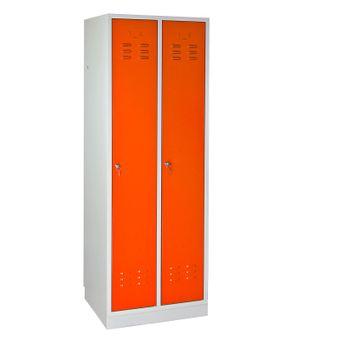 ADB Umkleideschrank Regular Spind orange 1775x600x500 mm – Bild $_i