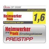 Güde Q9 Oberfräse / Oberfräser OF 1200 E + Oberfräsentisch OFT 855