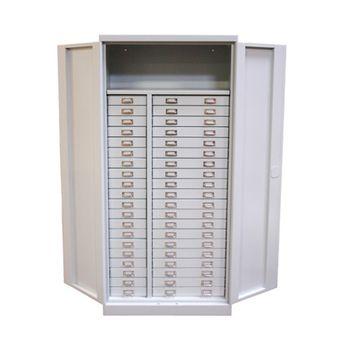 ADB Metall Schubladenschrank / Werkzeugschrank, 40 Schubladen, 1790x800x400mm – Bild $_i