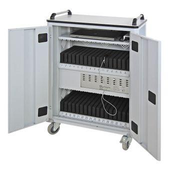 ADB Tabletwagen für 32 Tablets Laptopwagen Computer Schließfach Tablet Spind – Bild $_i