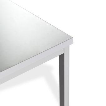 ADB Bürotisch Computertisch Schreibtisch Büro PC Stahlrohr-Tisch 800x800x750 mm – Bild $_i