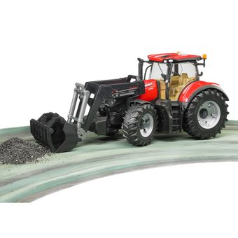 Bruder Case IH Optum 300 CVX Traktor mit Frontlader / 03191 – Bild $_i
