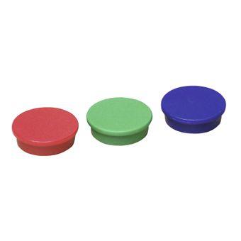 ADB Magnete Ø 25 mm 10 Stück für Pinnwand - versch. Farben – Bild $_i