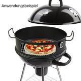 Grill Pizzaring-Set für 57 cm Rundgrill / Kugelgrill
