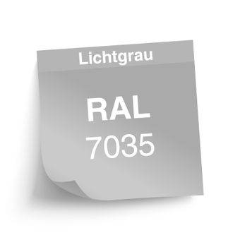 ADB Rolladenschrank / Aktenschrank, 2-Türig, 4 Fachböden, 1950x1200x450 mm – Bild $_i