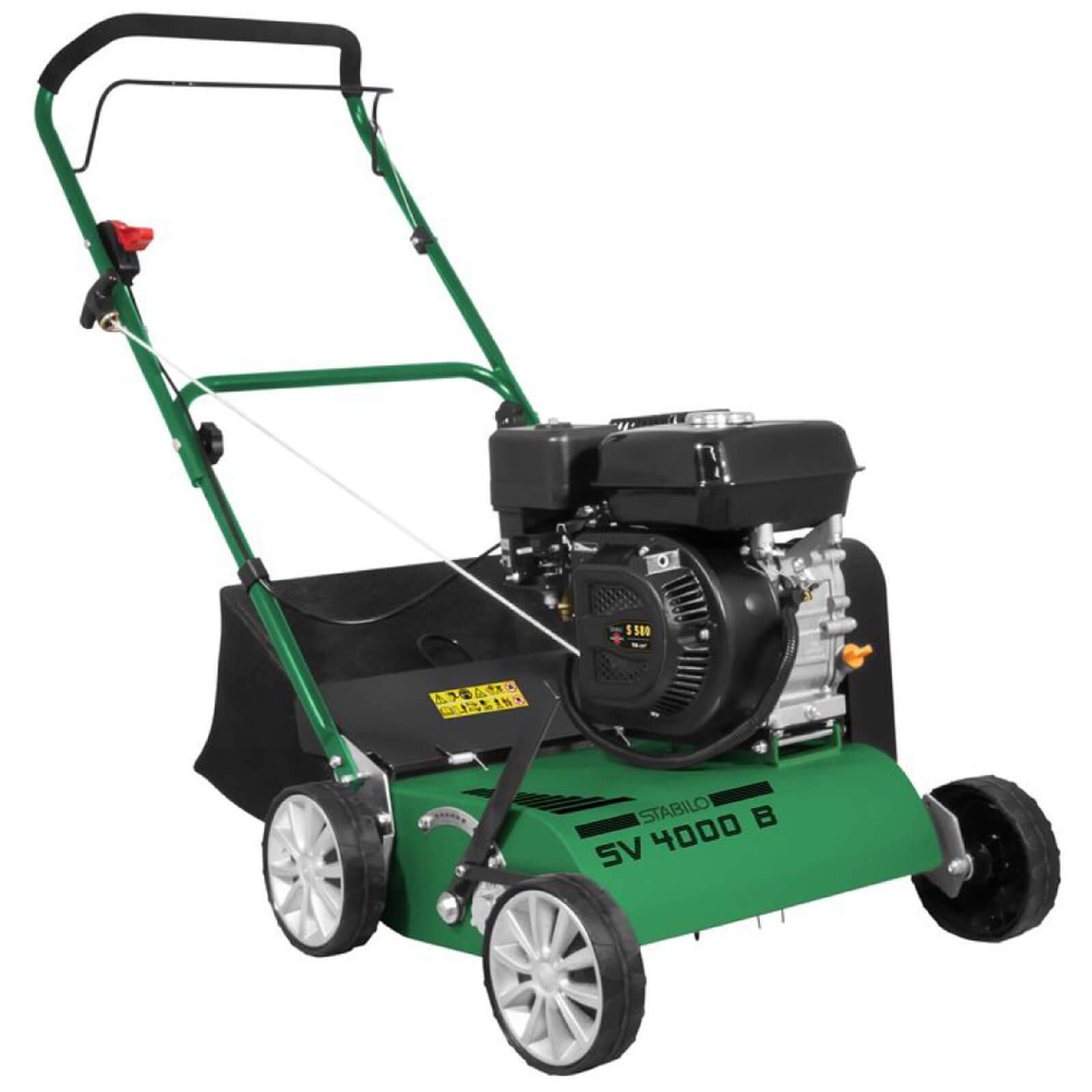 Stabilo Benzin Vertikutierer 3,8kW (5,2 PS) Rasenlüfter SV 4000 B 05134