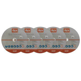 Metall Trennscheiben Set 5er 230 mm / 1,9 – Bild $_i