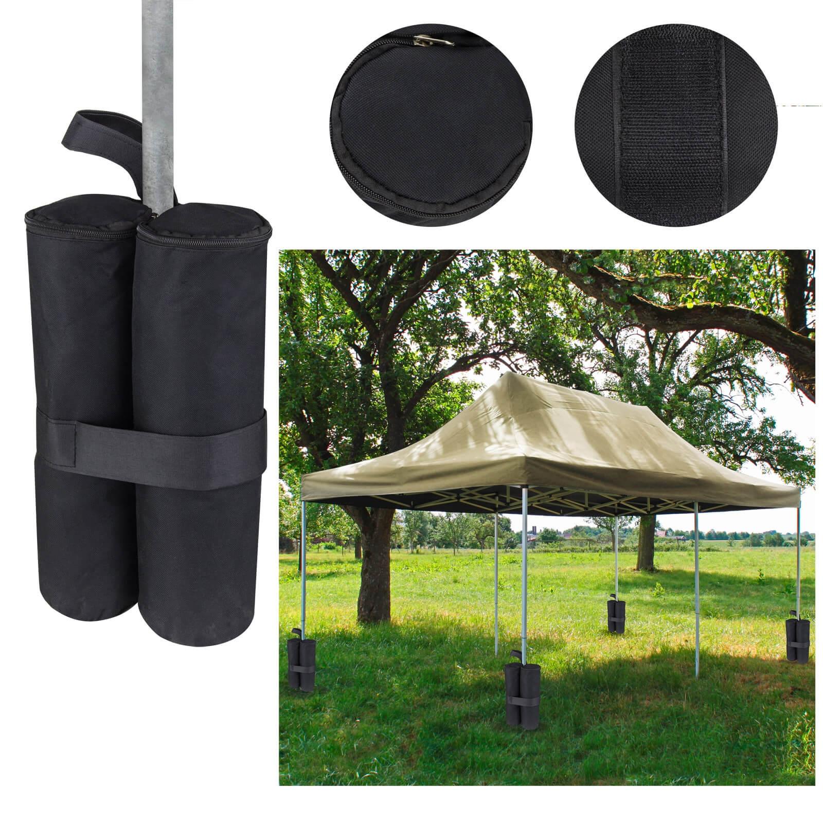 standfu gewichte sandsack 4er set f r zelt pavillon. Black Bedroom Furniture Sets. Home Design Ideas
