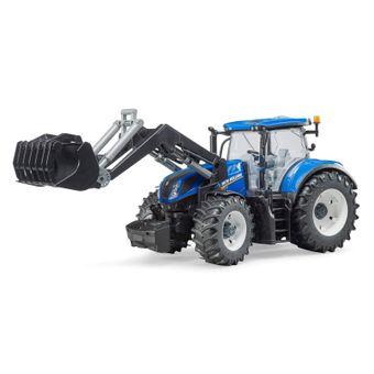 Bruder New Holland T7.315 Traktor mit Frontlader / 03121 – Bild $_i