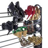 Schuhregal / Schuhablage Mailand 10 Ebenen für bis zu 50 Paar Schuhe