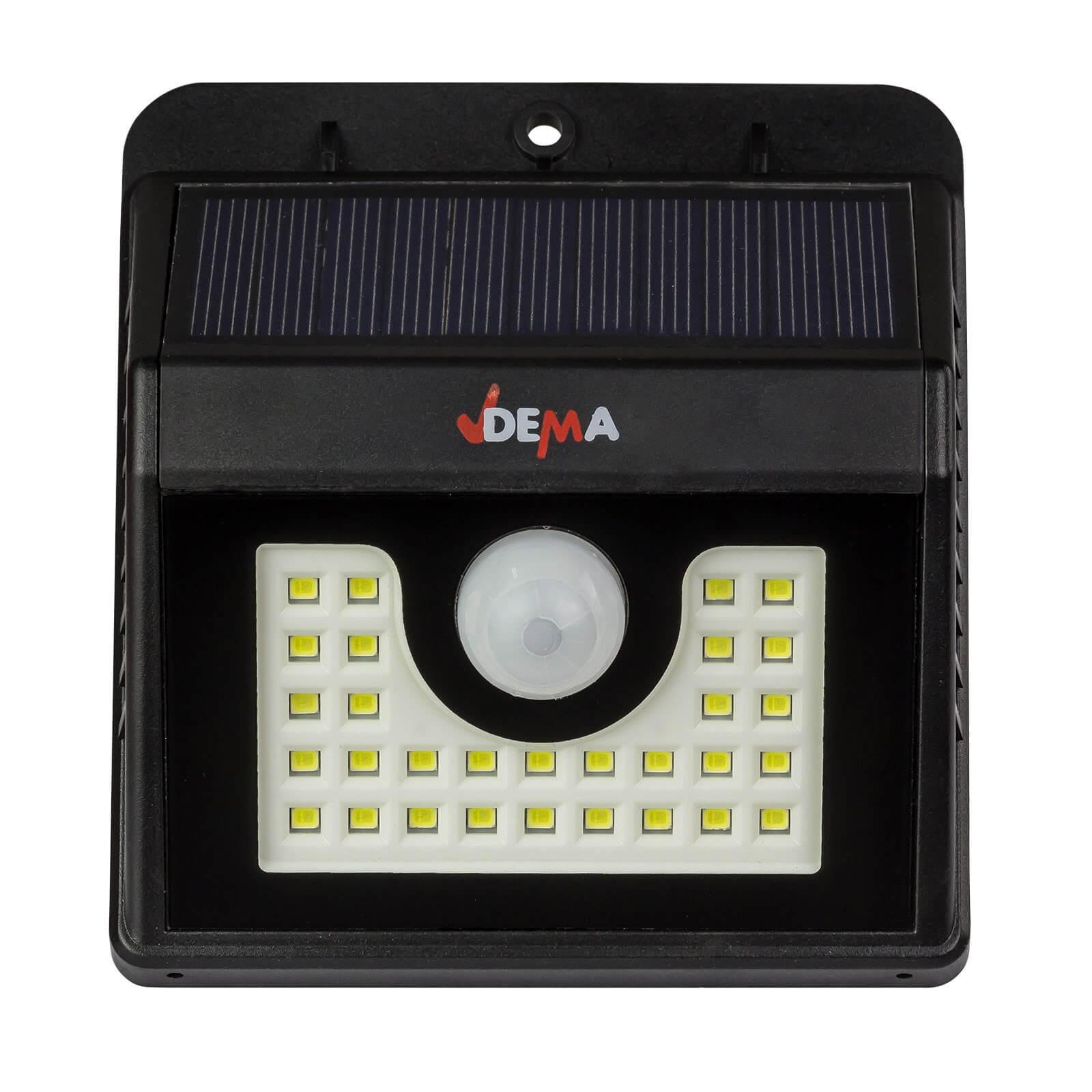 Led Leuchte Mit Akku Und Solar Dsl150 Mit Bewegungsmelder