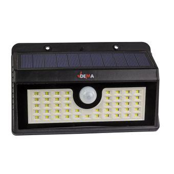 LED - Leuchte mit Akku und Solar DSL300 mit Bewegungsmelder – Bild $_i