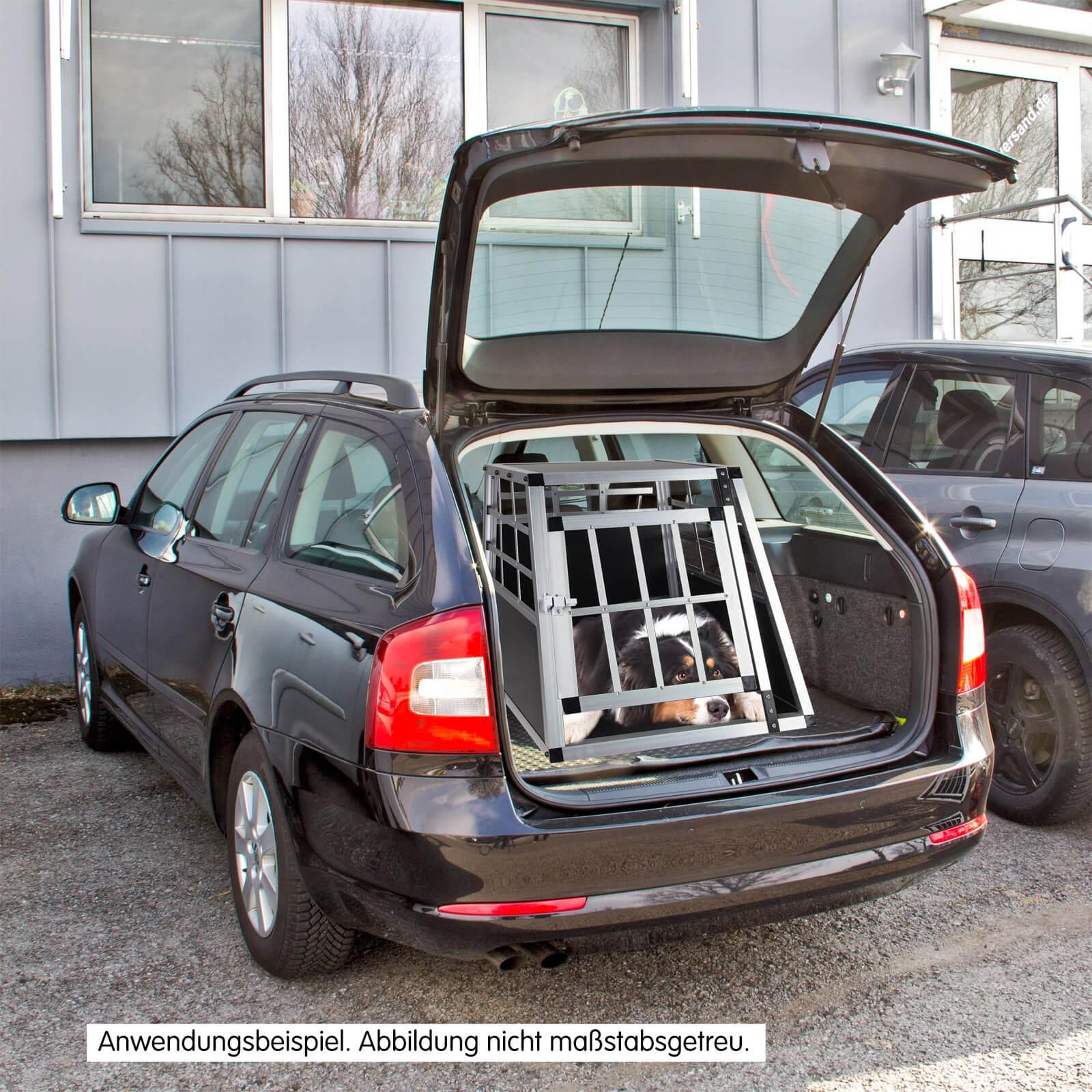 hundebox hundetransportbox waldi 1 f r auto kfz. Black Bedroom Furniture Sets. Home Design Ideas