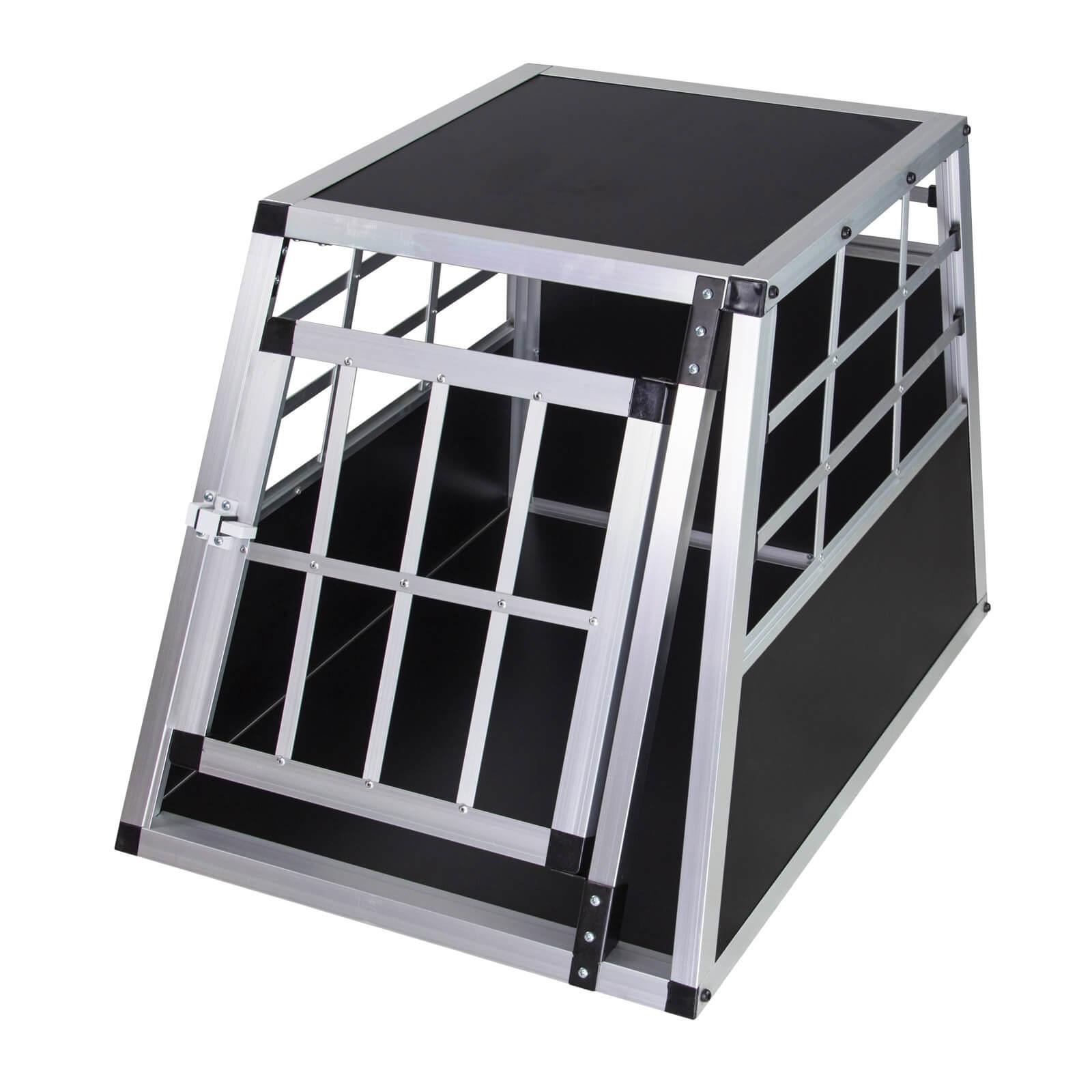 Dema PKW Auto Alu Hundebox Hundetransportbox Waldi 1 Transportbox Transportkiste 50060