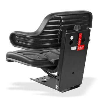Traktorsitz / Schleppersitz schwarz mit Armlehne ECO 102 – Bild $_i