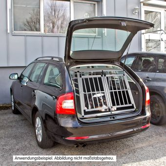 Hundebox / Hundetransportbox Bello 2 für Auto Kfz – Bild $_i