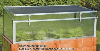 Juwel Frühbeet / Gewächshaus BIO-PROTECT 130/60 Ganzjahresbeet NEU – Bild $_i