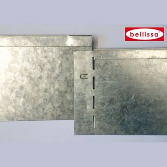 10x bellissa Rasenkante Metall 118 x 19,5 cm verzinkt – Bild $_i