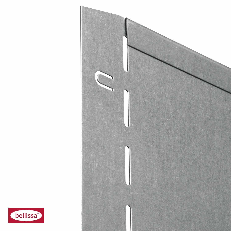 10x bellissa rasenkante garten verzinkt 118x13 cm gartenbeet. Black Bedroom Furniture Sets. Home Design Ideas