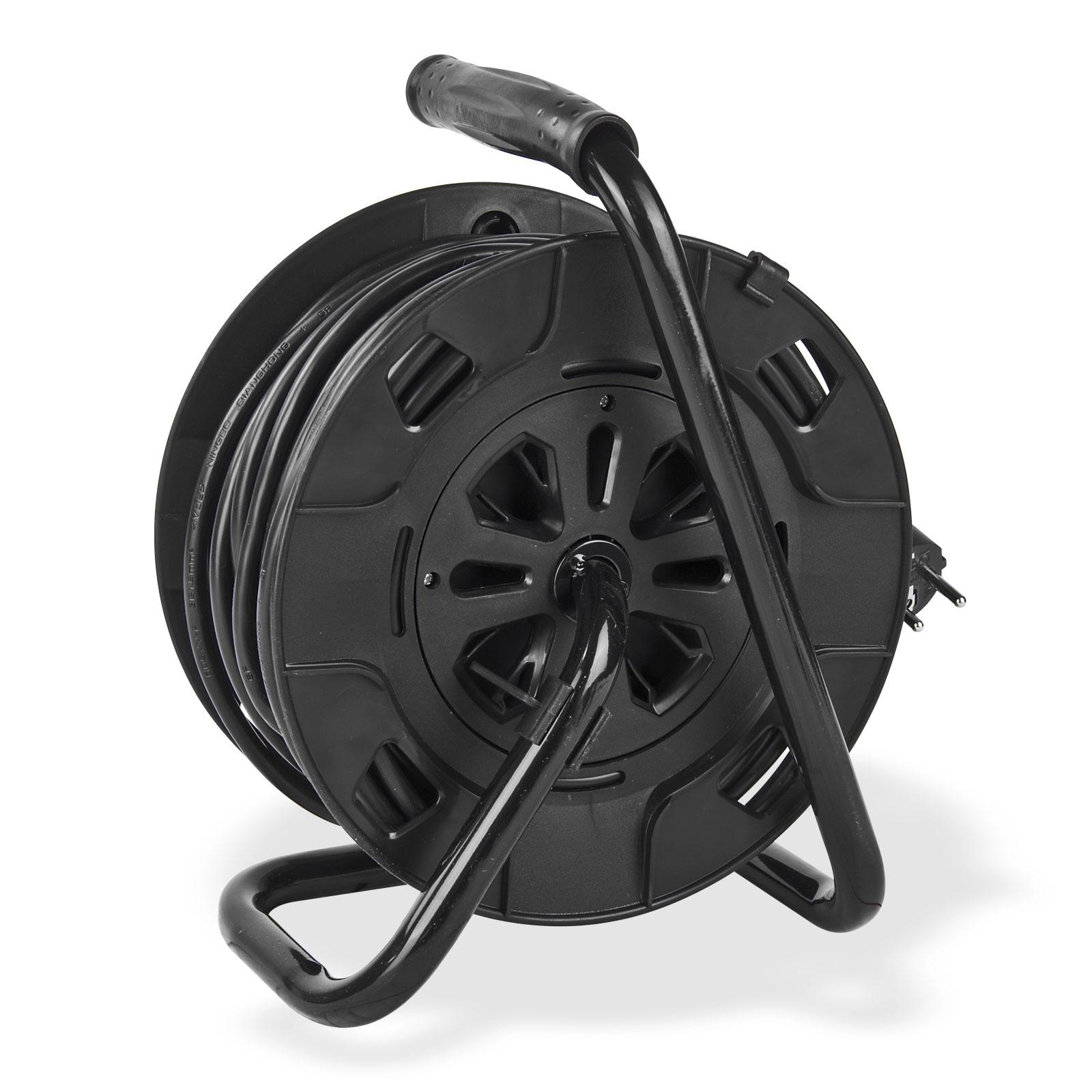 kabeltrommel verl ngerungskabel 25m h05vv f3g1 5mm ip20. Black Bedroom Furniture Sets. Home Design Ideas