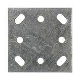 Pfostenträger Einschlaghülse Strebenplatte f. Zaunpfosten Ø 36 mm