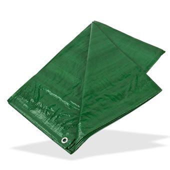 PE - Gewebeplane / Abdeckplane grün 1,5x6 m 90g/m² – Bild $_i