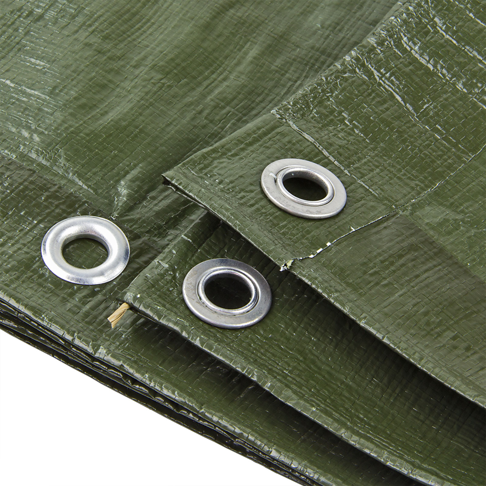 Abdeckplane Gewebeplane Gartenplane Holzplane Schutzplane Holz Grün 3x3 4x6 m
