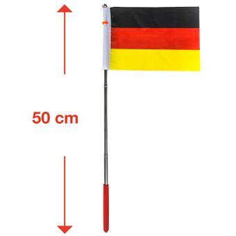 Deutschlandflagge / Deutschlandfahne 20 - 50 cm – Bild $_i