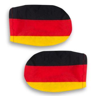2er Set Autospiegel-Überzug Deutschland Fußball WM – Bild $_i
