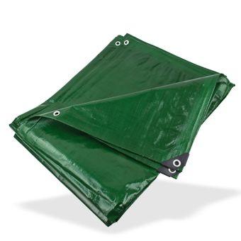 PE - Gewebeplane / Abdeckplane grün 4x6 m 210g/m² – Bild $_i