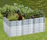 Juwel Hochbeet PROFILINE Größe 2 Komplett- oder Aufbauset Terracotta / Basaltgrau