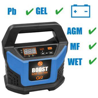 Güde Automatik Auto Batterieladegerät GAB 12V-15A-Boost