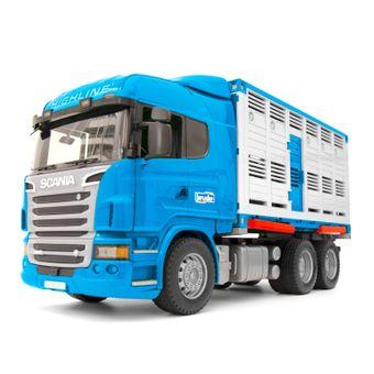 Bruder Scania R-Serie Tiertransport LKW Spielzeug – Bild $_i